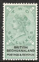 Bechuanaland 1888 green/black 2/- mint  SG16