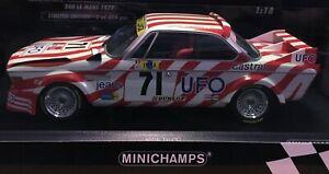 MINICHAMPS BMW 3.0 CSL LE MANS 1977 (IMSA GT CLASS WINNER) 1 OF ONLY 804 - 1/18