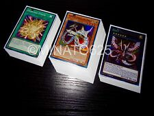 Yugioh Complete Cyber Dragon Deck + Ultra Pro Sleeves! Tournament Ready! Holos!