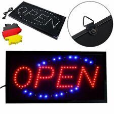 LED Open Geöffnet Schild Leuchte Display Leuchtreklame Leuchtschild LichtWerbung