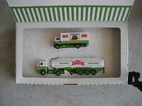 Vintage HO 1/87 Scale Plastic Albedo Zentis Tanker Delivery Truck Set in Box