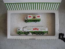 Vintage HO 1/87 Scale Plastic Albedo Zentis Tanker Delivery Truck Set in Box