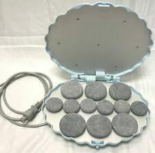 Therapist's Choice Portable Hot Stone Warmer with 12 Stones