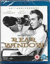 Rear Window 60th Anniversary Edition Blu Ray New All Regions Free Post