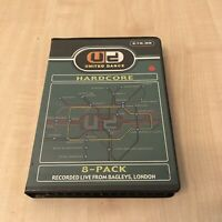 RAVE HARDCORE TAPE PACK CASSETTE BOX 8 TAPES UNITED DANCE SY VIBES HIXXY ETC