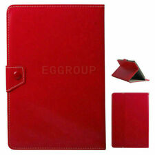 """For Samsung Galaxy Tab A/E/S2/4 7"""" 8""""2018 PU Leather Stand  Folio Case Cover-Red"""