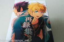 NARUTO yaoi doujinshi Sasuke X Naruto (A5 170pages) Mikayla Sairokushu vol.3