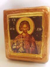 Saint Wallius Wales Waly Ouallius Agios Ouallios Christianity Church Icon Art
