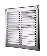 Acier inoxydable air vent grille 295mm x 295mm conduits de ventilation cover MTA10N