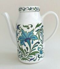 Vintage Midwinter Spanish Garden Coffee Pot by Jessie Tait - 1960's