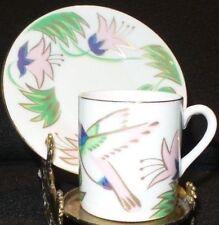 San Diego Zoo Souvenir Demitasse Coffee Tea Cup & Saucer - Japan - Blue -Koala