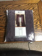 JCPENNEY Home Collection Purple Wine Print Scarf Valance (48W X 216L)