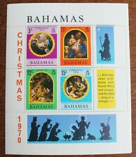 Bahamas - 1970 Christmas Miniature Sheet – UM (MNH) (R4)