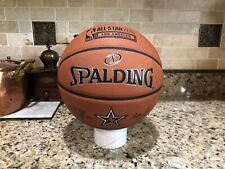 Spalding 2018 NBA Los Angeles LA All Star Official Game Ball Leather Basketball