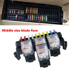 Car Auto Fuse Box 80A 5-Pin Relay Socket Base Holder Interior Engine Parts Kit