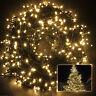 200 LED Lichterkette Weihnachtslichterkette Außen Innen Weihnachtsbeleuchtung