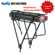 Gepäckträgerakku 36V 14,5Ah 522Wh mit Samsung Zellen Pedelec E-Bike ebike Akku