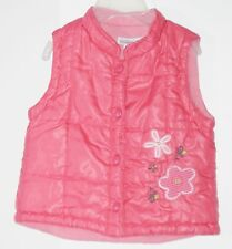 GENEVIEVE LAPIERRE Girls Size 30 Lbs Pink Fully-Lined Vest