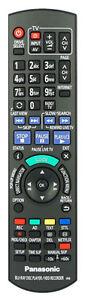 Genuine Panasonic Genuine Remote Control N2QAYB000763 Fits DMR-PWT420EB