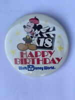 CAST MEMBER DISNEY PIN HAPPY 18TH BIRTHDAY WDW  MICKEY Pin 6935