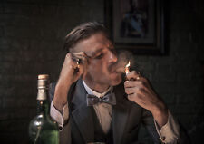 "Peaky Blinders,""Arthur With Cigar"" Reproduction Poster, Home Wall Art,"