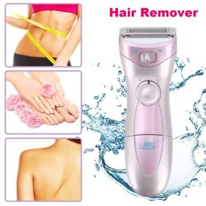 Electric Ladies Shaver Women Hair Remover Bikini Legs Underarm Body Face Trimmer