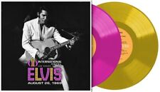 Elvis Live At The International Hotel 26 August 1969 Coloured Vinyl  LTD