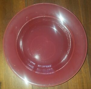 """Williams Sonoma Portugal """"BELVEDERE"""" Red Pattern Rimmed Pasta / Soup Bowl"""