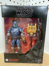 Star Wars The Black Series Heavy Infantry Mandalorian 6 inch figure IN HAND