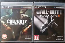 PS3-Call of Duty: Black Ops & Black Ops 2 (COD) Completa Con Manuales