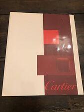 Rare Cartier Catalogue  From Harrods