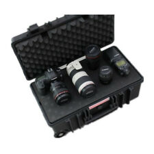 HEAVY DUTY CAMERA TRAVEL CASE MILITARY GRADE WATERPROOF AV STORAGE CASE