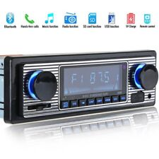 Autoradio Bluetooth MP3 Player Vintage Stereo USB Stereo AUX Classic Car Au G5S8