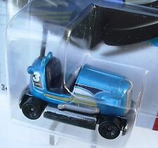 2013 Hot Wheels 145/250 Blue BUMP AROUND SUPER CHROMES  New in Package!