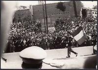YZ3005 Roma - Festa Repubblica - Parata Militare - Foto d'epoca - 1960 photo