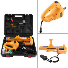 12V 3 Ton Car Electric Power Scissor  Lifting Impact Wrench Tools Fitting