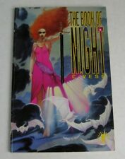 THE BOOK OF NIGHT - CHARLES VESS / FANTASY ANTHOLOGY 1991 GRAPHIC NOVEL