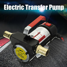 12V Portable Fuel Diesel Pump Oil Transfer Pump Self Priming Set 50L/Min 220W