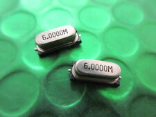 HC49 / SMD Cristallo Oscillatore, 6.0000 MHz, HC49 / 4hsmx *** 25 per vendita ***