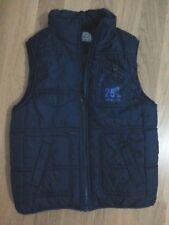BLUKIND lotto 654 smanicato piumino k-way giacca giubbino bimbo 6/7 anni cm127