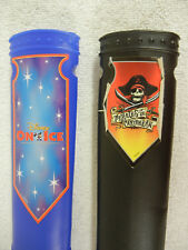Two Plastic Pirate Scabbards for Your Scary Halloween Scene or Trick-or-Treater
