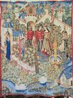 """CAMELOT TAPESTRY 50 1/2""""  X  39"""" 'POINT DE LOISELLES' GUENIEVRE  MADE IN FRANCE"""