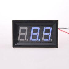 1pcs 3.2V~30V  Ultra small Blue LED Volt Meter 3.2V~30V Doesn't Require Power