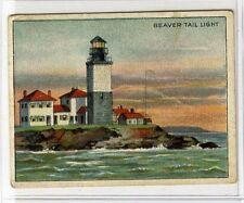 (Gx790-454) American Tob Co USA, T77 Lighthouse Series, Beaver Tail Light 1910 G