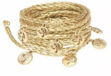 ZUMBA Metallic Logo Wrap Bracelet RARE EUC
