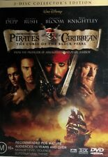 Pirates Of The Caribbean - The Curse Of The Black Pearl 2 Disc Set Region 4 DVD