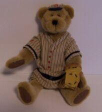Cal Doubleplay Boyds Bear Baseball Pinstripes Glove Mitt Jointed Retired