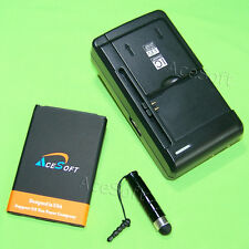 AceSoft Battery Desktop Charger Stylus 4 LG Venice LG730 Boost Mobile USA Seller