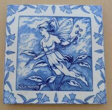 Antique WEDGWOOD Midsummer Night's Dream Large Tile - Peasblossom
