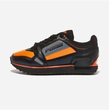 Puma Mile Rider Bright Peaks Orange All Size Authentic Men's Sneakers - 37411303
